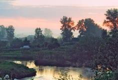 Land Streamlet Royaltyfri Bild