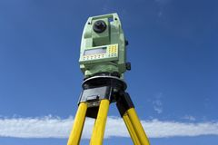 Land Surveying Royalty Free Stock Images