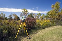 Land Surveying royalty free stock photos