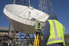 Land Surveying Stock Images