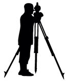 Land surveyor Stock Image