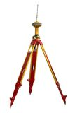 Land surveyor equipment Royalty Free Stock Images