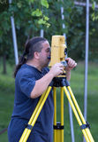 Land surveyor Royalty Free Stock Photos
