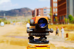 Land surveyor Royalty Free Stock Image