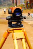 Land surveyor total station Royalty Free Stock Image