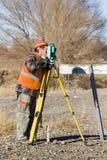 Land surveyors Stock Images