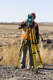 Land surveyors Royalty Free Stock Photos