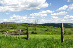 Land-Szene, Hudson Valley, NY lizenzfreies stockbild