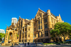 Land Titles Office, a sandstone Neo-Gothic building in Sydney. Australia Stock Image