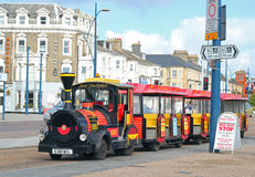 Land train in Great Yarmouth, United Kingdom. Stock Photos