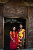Land u. Leute von Nagaland-Indien. Lizenzfreies Stockbild