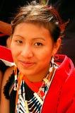 Land u. Leute von Nagaland-Indien. Lizenzfreie Stockfotos