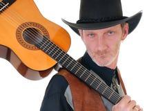 Land u. westlicher Sänger Lizenzfreie Stockbilder