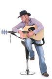 Land u. westlicher Sänger Lizenzfreies Stockbild