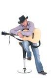 Land u. westlicher Sänger Stockbild