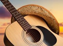 Land und westliche Musik stockfoto