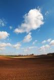 Land und Wolken. Stockbilder