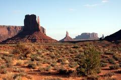 Land van de Navajo stock afbeeldingen
