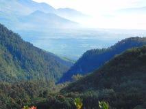 land van duizend berg stock afbeelding