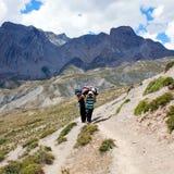 Land von Dolpo, Nepal Lizenzfreie Stockbilder