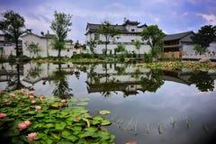 Land von Flüssen und von Seen Lizenzfreie Stockfotos