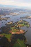 Land von Seen Lizenzfreies Stockfoto