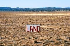 Land voor Verkoop Stock Foto's