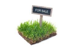 Land voor verkoop royalty-vrije stock foto