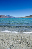 Land, Water, Hills & Sky. Clear Water view of High Altitude Lakes of Himalayas Stock Photos