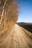 Land-Weg, Deutschland Stockbilder
