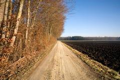 Land-Weg, Deutschland Lizenzfreies Stockfoto