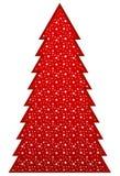 Land-Weihnachtsbaum stock abbildung