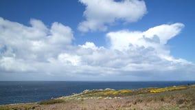 Land&-x27; s końcówka w Cornwall Obraz Stock