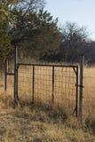 Land-Zaun Lizenzfreies Stockbild
