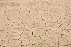 Land zonder water Stock Foto