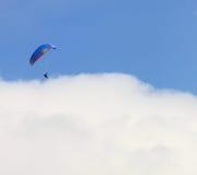 Landa på ett hav av oklarheter Royaltyfria Bilder