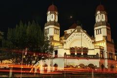 Landacape de Semarang Imagem de Stock Royalty Free