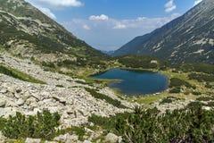 Landacape of Muratovo lake, Pirin Mountain Stock Photos