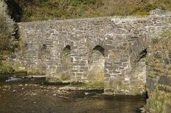 Landacre Bridge, River Barle Royalty Free Stock Images