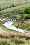 Landacre most, Exmoor Fotografia Royalty Free