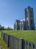 Landakot katedra Iceland Obrazy Stock