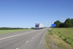 Landanlieferung lizenzfreie stockfotografie