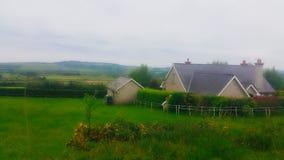 Landansicht in Irland Lizenzfreie Stockfotografie
