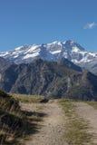 Landascape del otoño de Monte Rosa Fotos de archivo libres de regalías