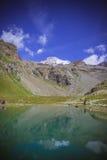 Landascape do verão de Monte Rosa Foto de Stock Royalty Free