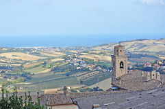 Landascape in Marche Royalty Free Stock Photos