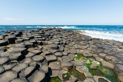 Landascapes of Ireland.  Giant`s Causeway, Northern Ireland. Landascapes of Ireland. Giant`s Causeway, Northern Ireland stock image