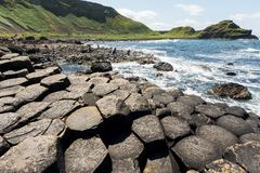 Landascapes of Ireland. Giant`s  Causeway, Northern Ireland. Landascapes of Ireland. Giant`s Causeway, Northern Ireland stock photos