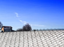 Landbauerhäuschen Stockfotos