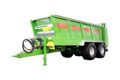 Landbouw aanhangwagen Stock Foto